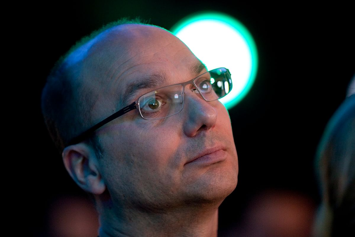 Andy Rubin in Hong Kong, China. (Photographer: Jerome Favre/Bloomberg)