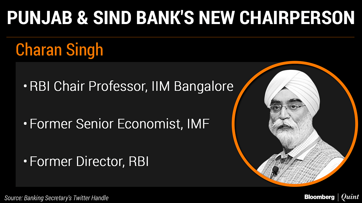 New Chairpersons Appointed For Dena Bank, Punjab & Sind Bank, Central Bank Of India