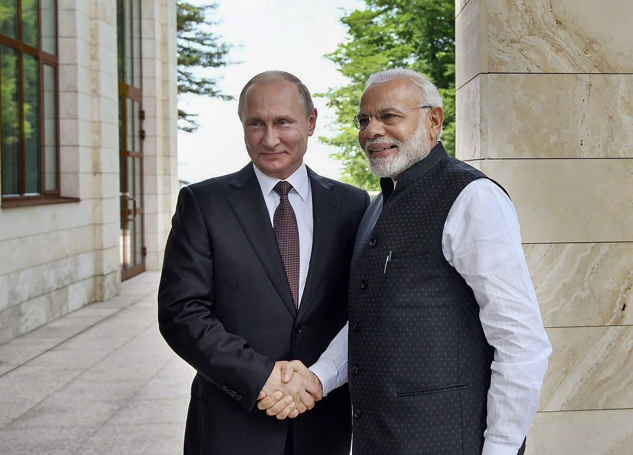 PM Modi, Russian President Putin Discuss Regional, Global Issues