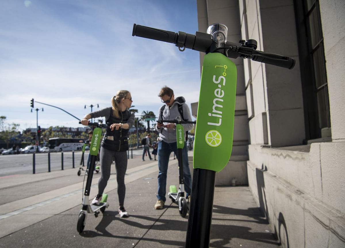 This Scooter-Sharing Company Wants to Fill the Streets with 'Transit Pods'