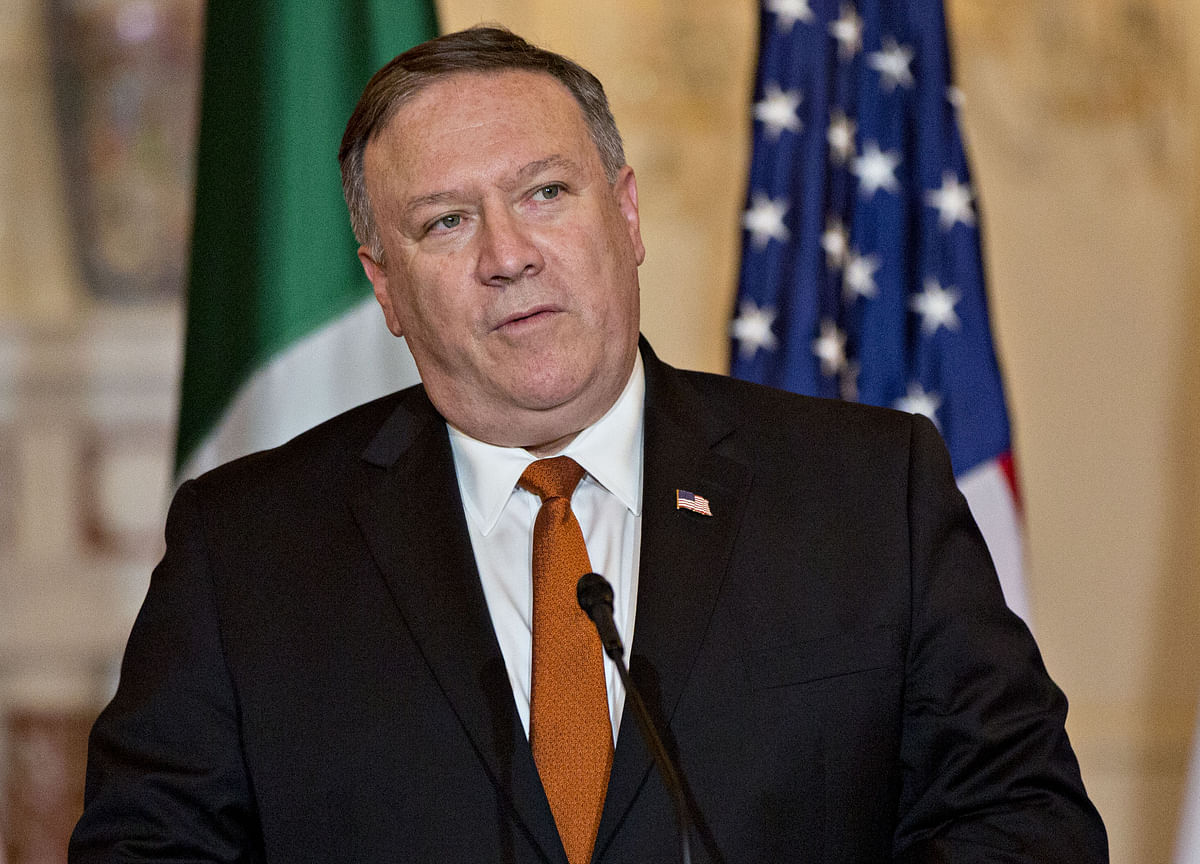 Pompeo Says U.S. Close to Draft Deal With Taliban on Terrorism