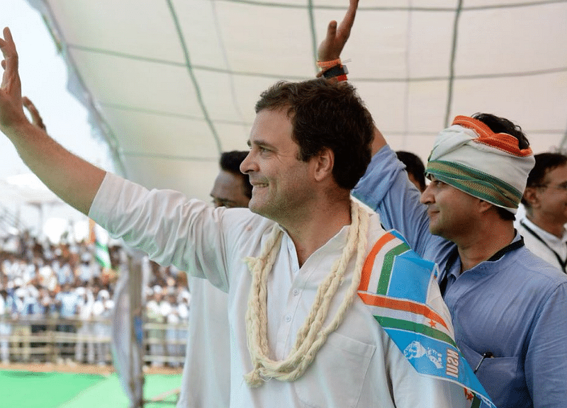 Farm Loan Waiver 10 Days After Coming to Power: Rahul  in Mandsaur