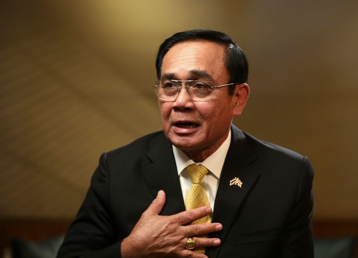 Thai Junta Chief Says He'll Decide Political Future by September