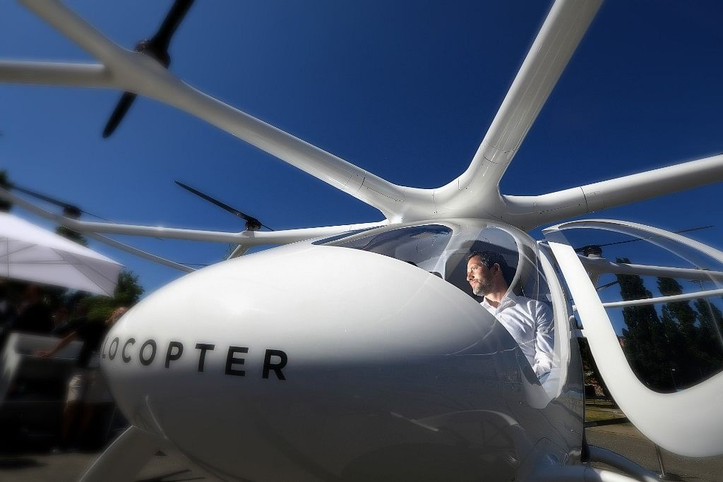 An Intel-Backed Startup Wants to Become the Uber of the Skies