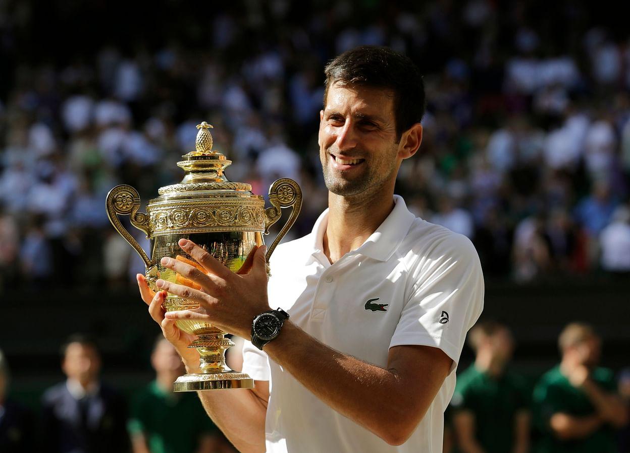 Wimbledon 2018 Djokovic Wins Fourth Wimbledon Title 13th Major