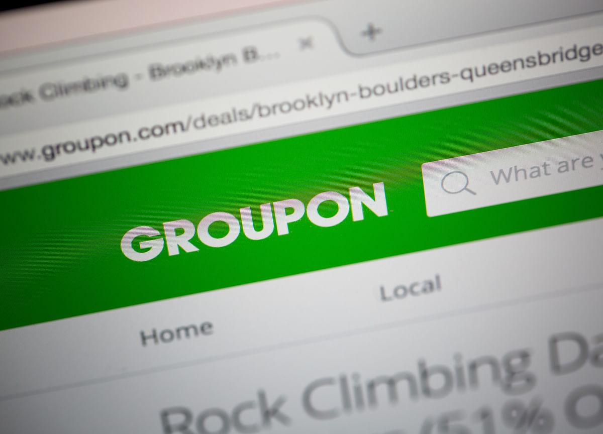 Groupon Surges on Report Discounts Provider Is Seeking a Buyer