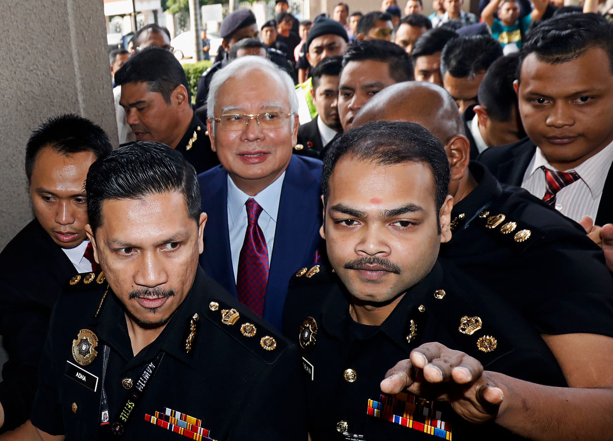 Najib Pleads Not Guilty to Corruption Charges in 1MDB Case