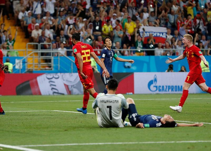 Japan vs Belgium's Blockbuster of a Match Leaves Twitter in Awe
