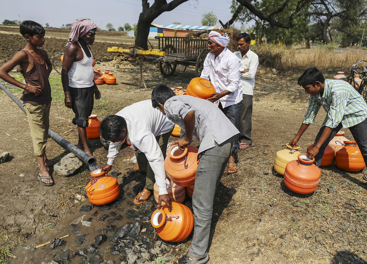 How A Bit Of Imagination And Community Support Can Solve Maharashtra's Water Problem