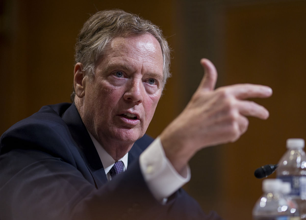 Lighthizer Says Tentative Nafta Deal May Be Inked Next Month