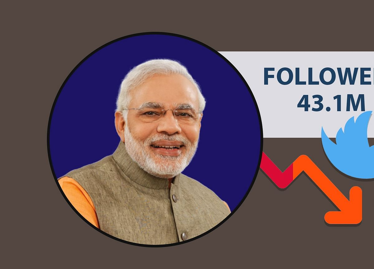 PM Modi Loses 3 Lakh Twitter Followers in Just 24 Hours
