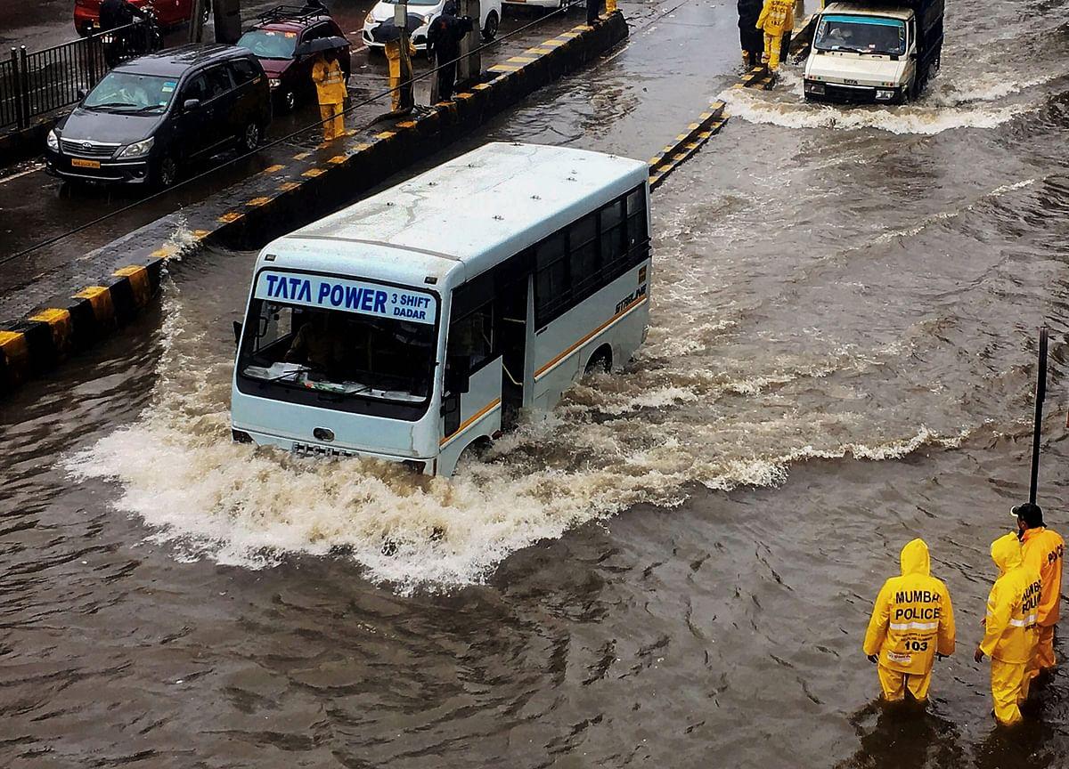 Heavy Rains Cripple Mumbai; Many Schools Shut, Trains Delayed