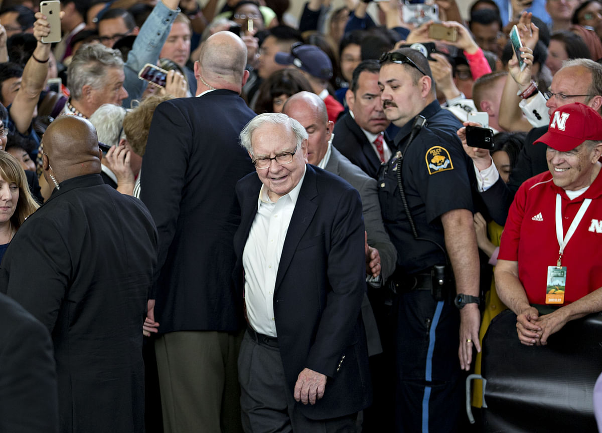 Buffett Gets Richer Even After Donating $3.4 Billion to Charity