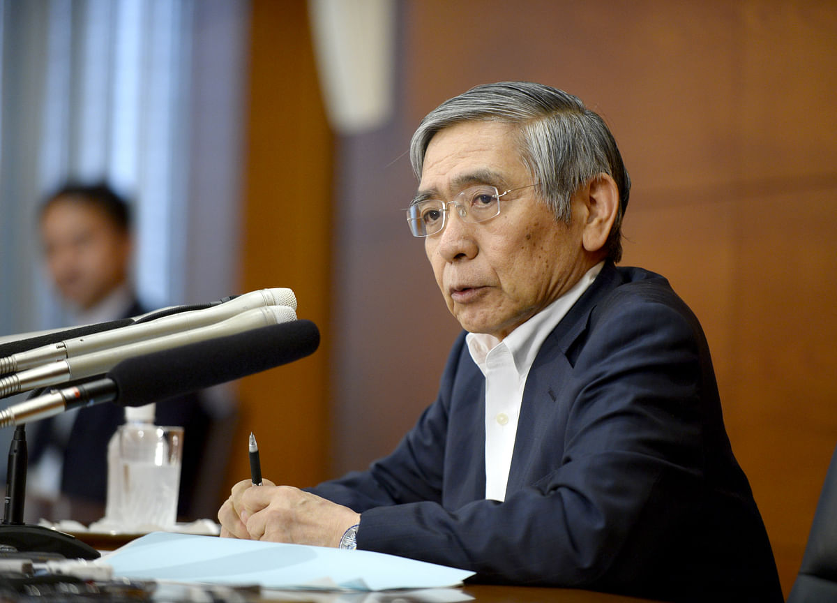 Kuroda Pushes Through Changes to Stay the Course for Longer Haul