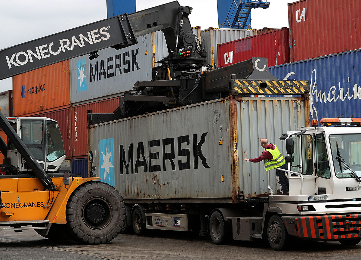 Maersk Shares Tank After CEO Talks to Analysts About Trade War