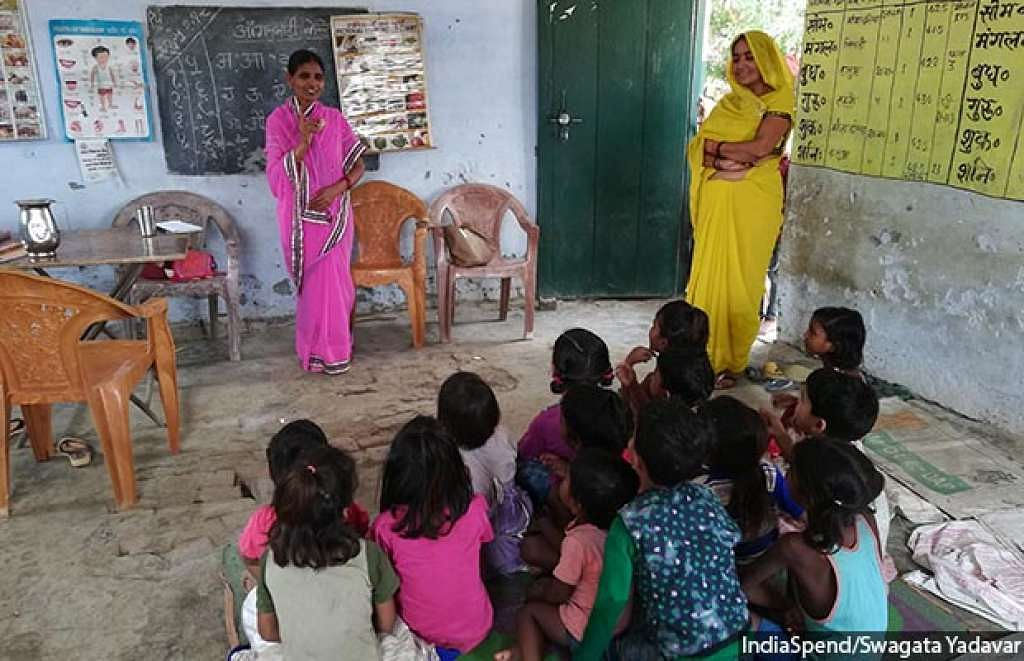 Why Health Workers, Paid Rs 4,000 Per Month, Are Vital To India's National Nutrition Mission