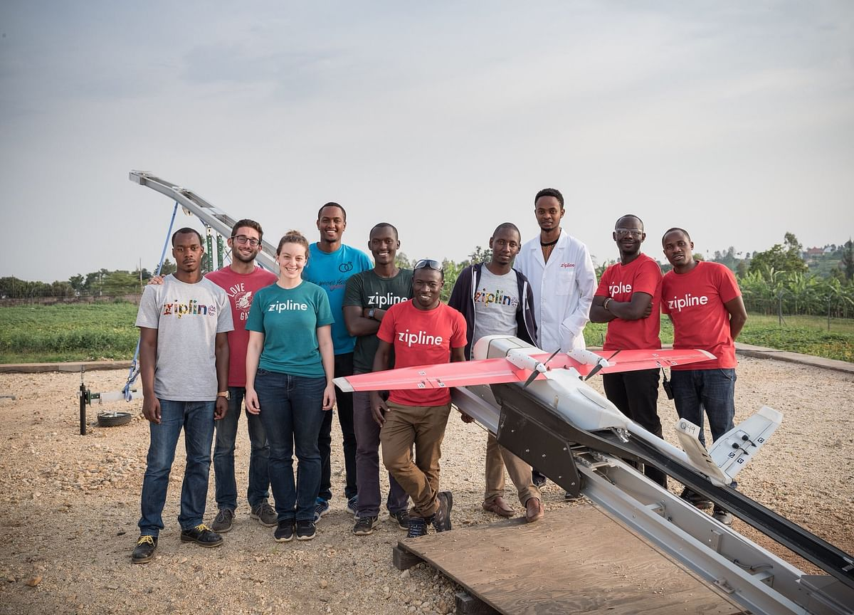This 27-Year-Old Launches Drones That Deliver Blood to Rwanda's Hospitals