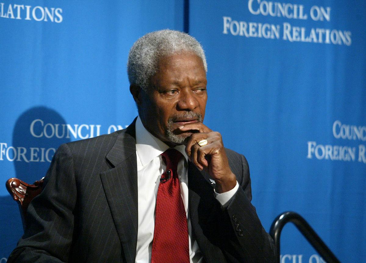 Kofi Annan, UN Leader Who Won Peace Prize, Dies at 80