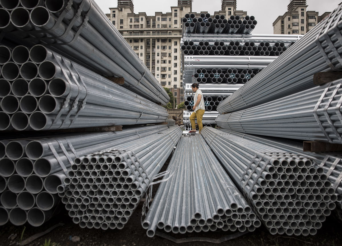 China Steel Prices Drop Over 5% On Concerns Of Scrapping Winter Curbs