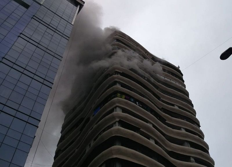 4 Dead, 21 Injured In Fire At Mumbai High-Rise