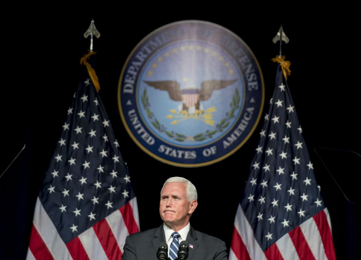 Pence Says Space Force to Assert U.S. 'Dominance' in Orbit