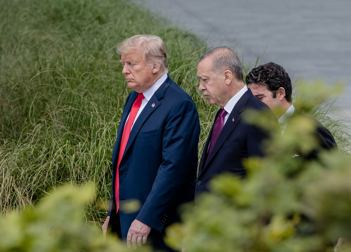 Trump Says Turkey Can Easily Mop Up ISIS Remnants in Syria