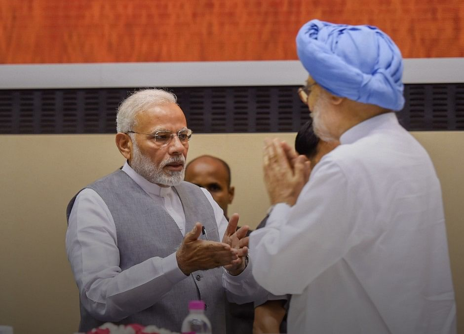 Prime Minister Modi Greets Manmohan Singh On His Birthday
