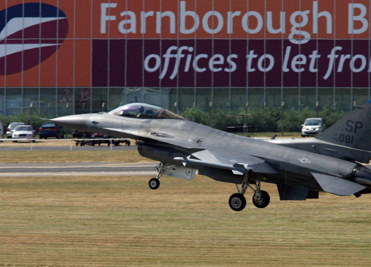 Lockheed to Make F-16 Wings in Push for India Warplane Contract