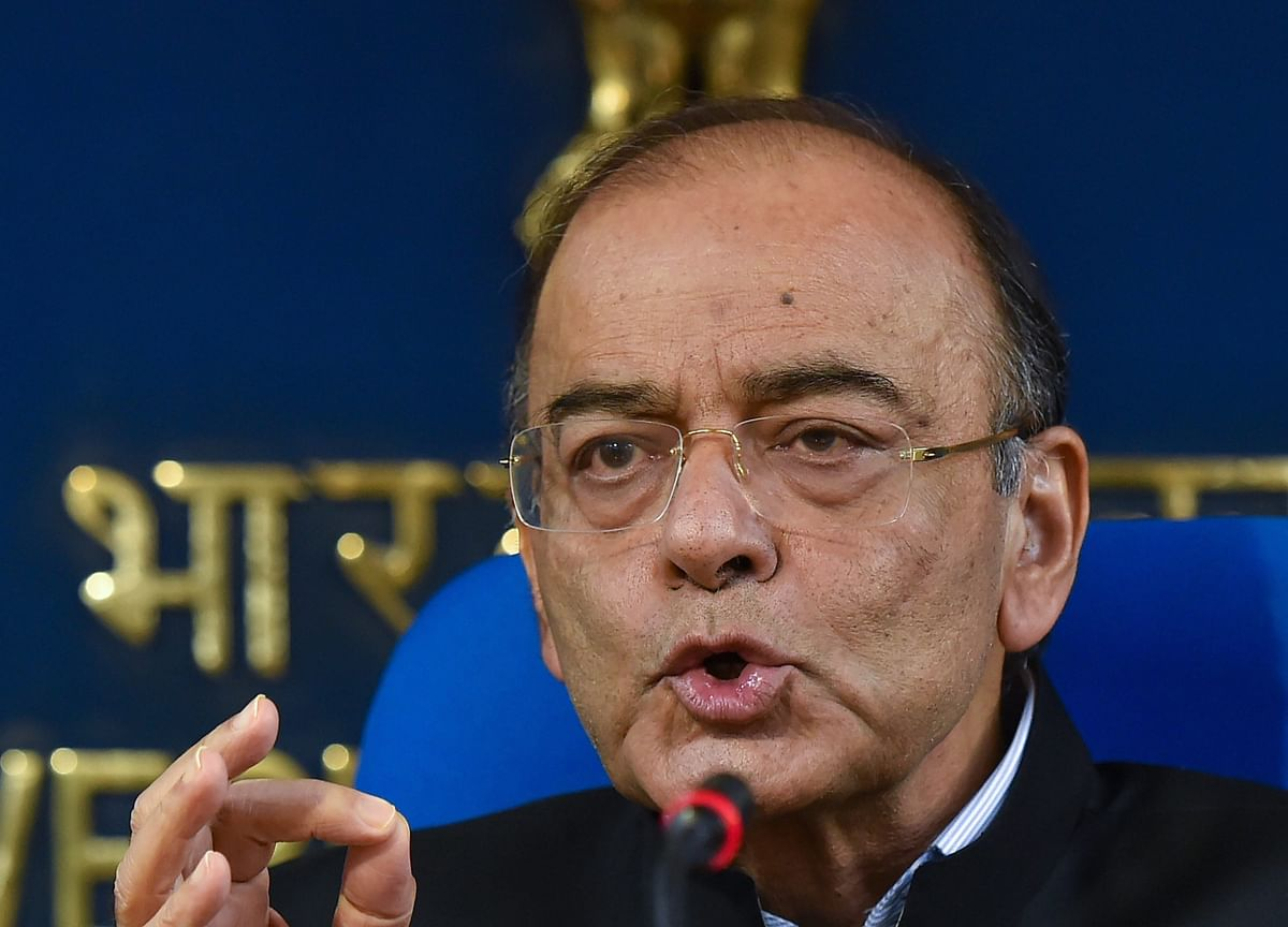 Jaitley Says Domestic Factors Not To Blame For Rupee Fall