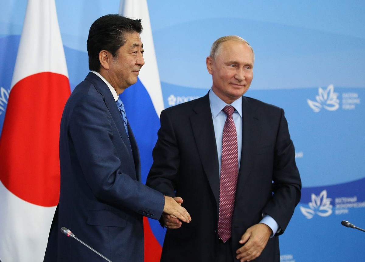 Japan Rejects Putin's Offer to Abe of Peace Treaty by Year-End