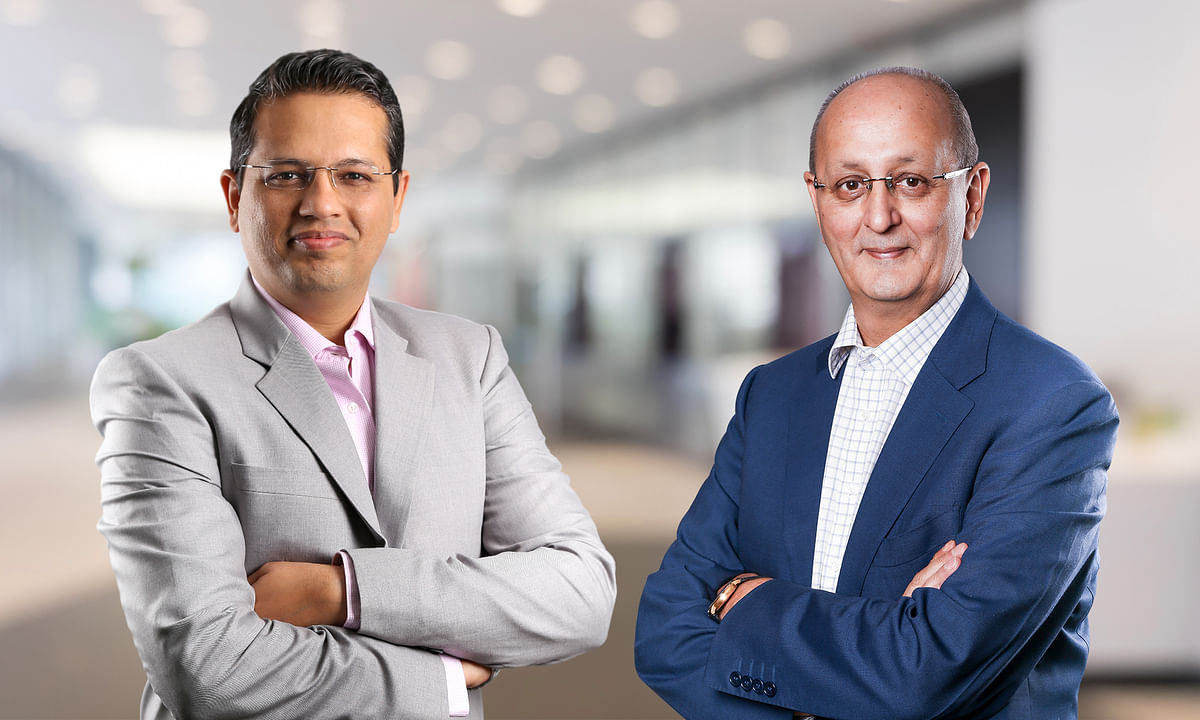 Andrew Holland (right), chief executive officer at Avendus Capital Public Markets, and and Vaibhav Sanghavi, the co-CEO. (Photograph: Avendus)