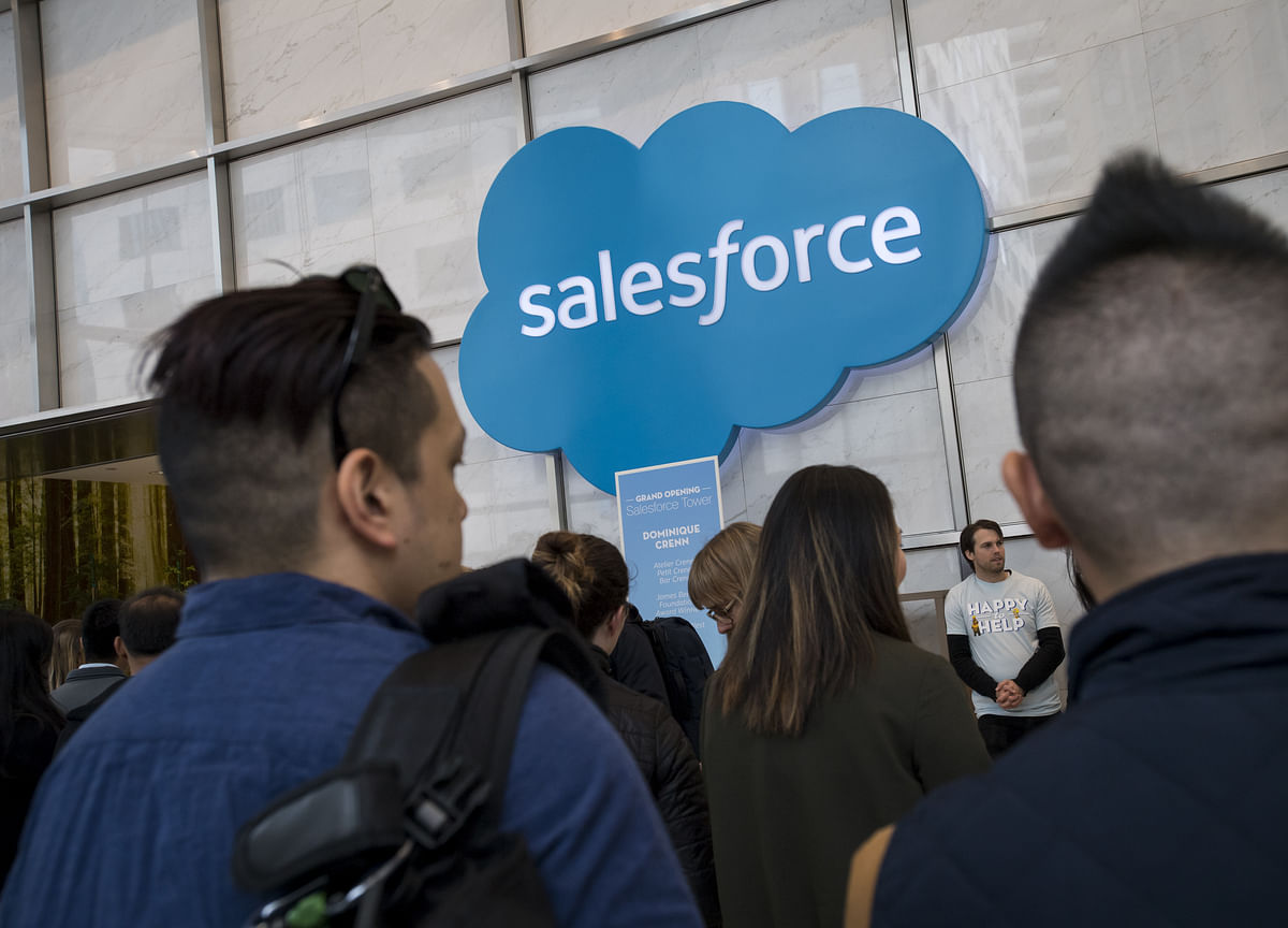 Salesforce Slides After Disappointing Revenue Forecast