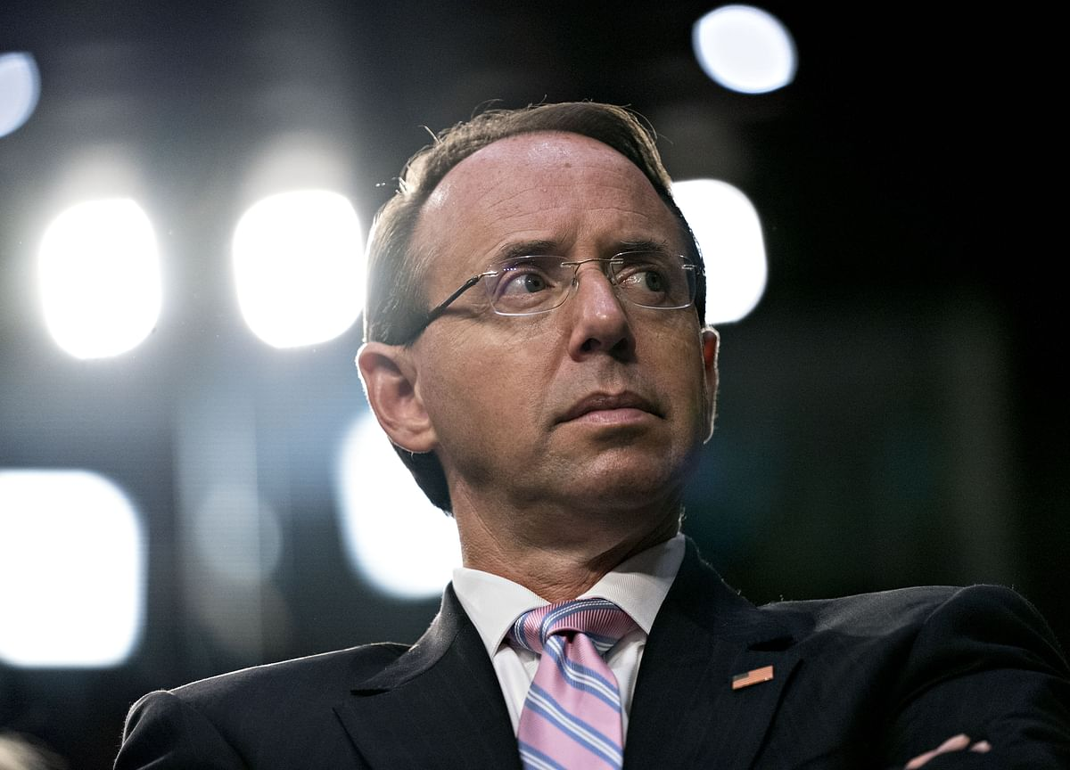 Rod Rosenstein Attacks Comey, Defends Mueller Probe in Speech