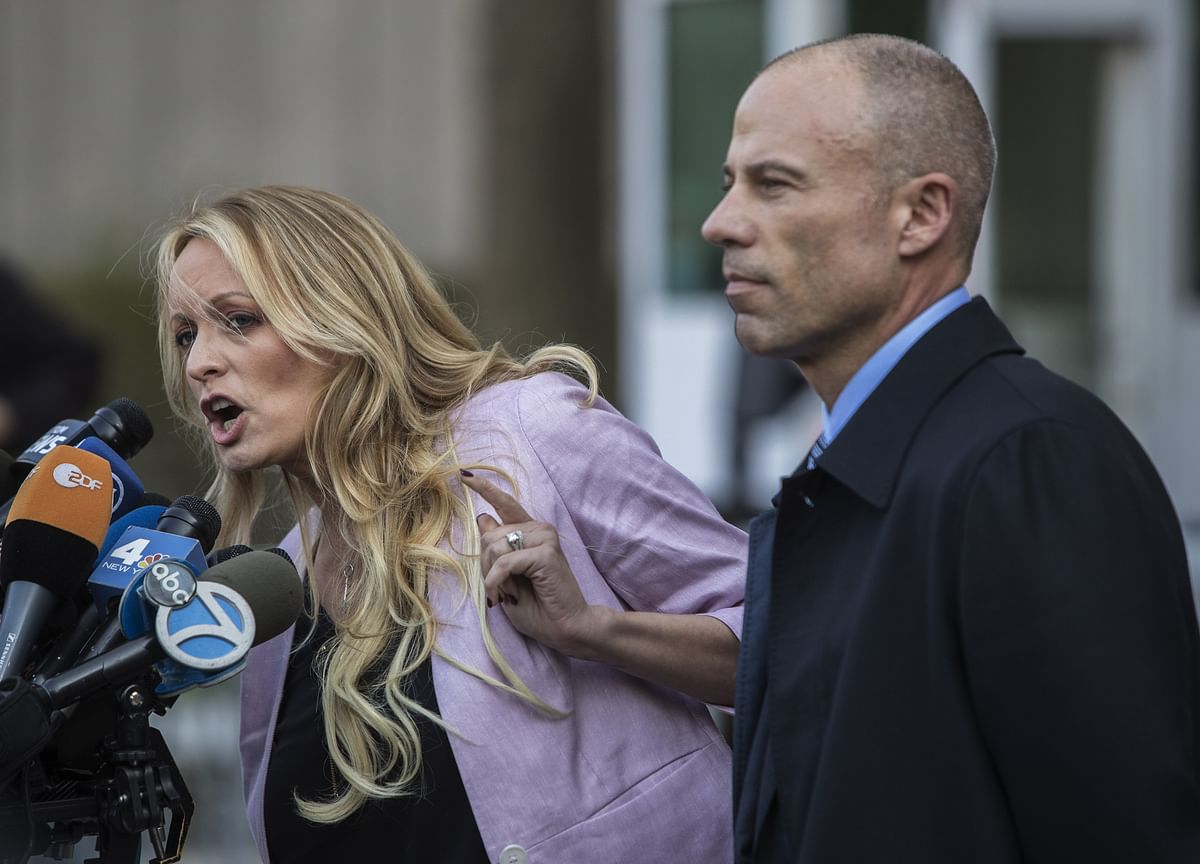 Stormy Daniels Says Trump'sThreats Are Based on a'Giant Lie'