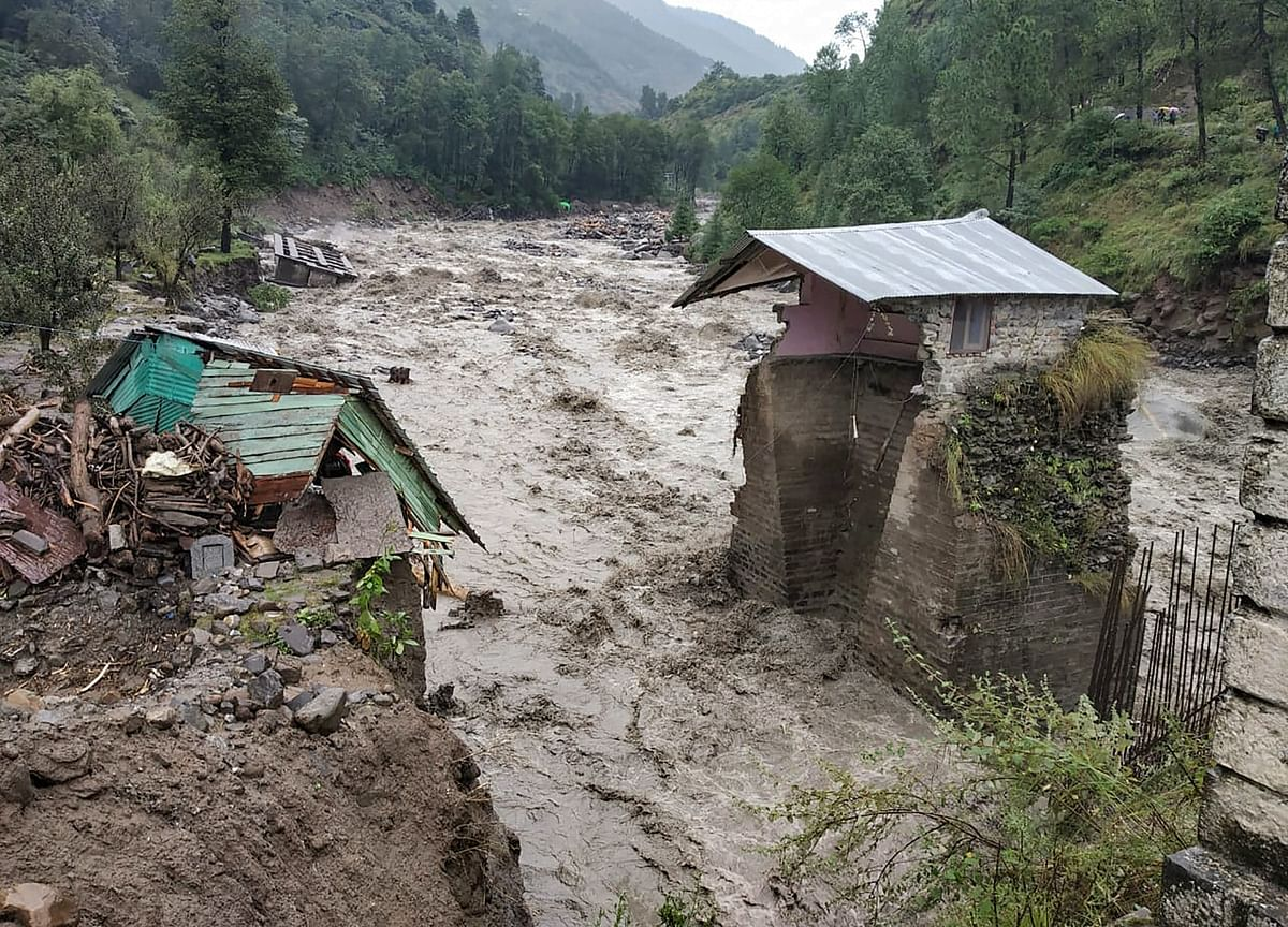 Rains, Flash Floods Claim Eight Lives In North India