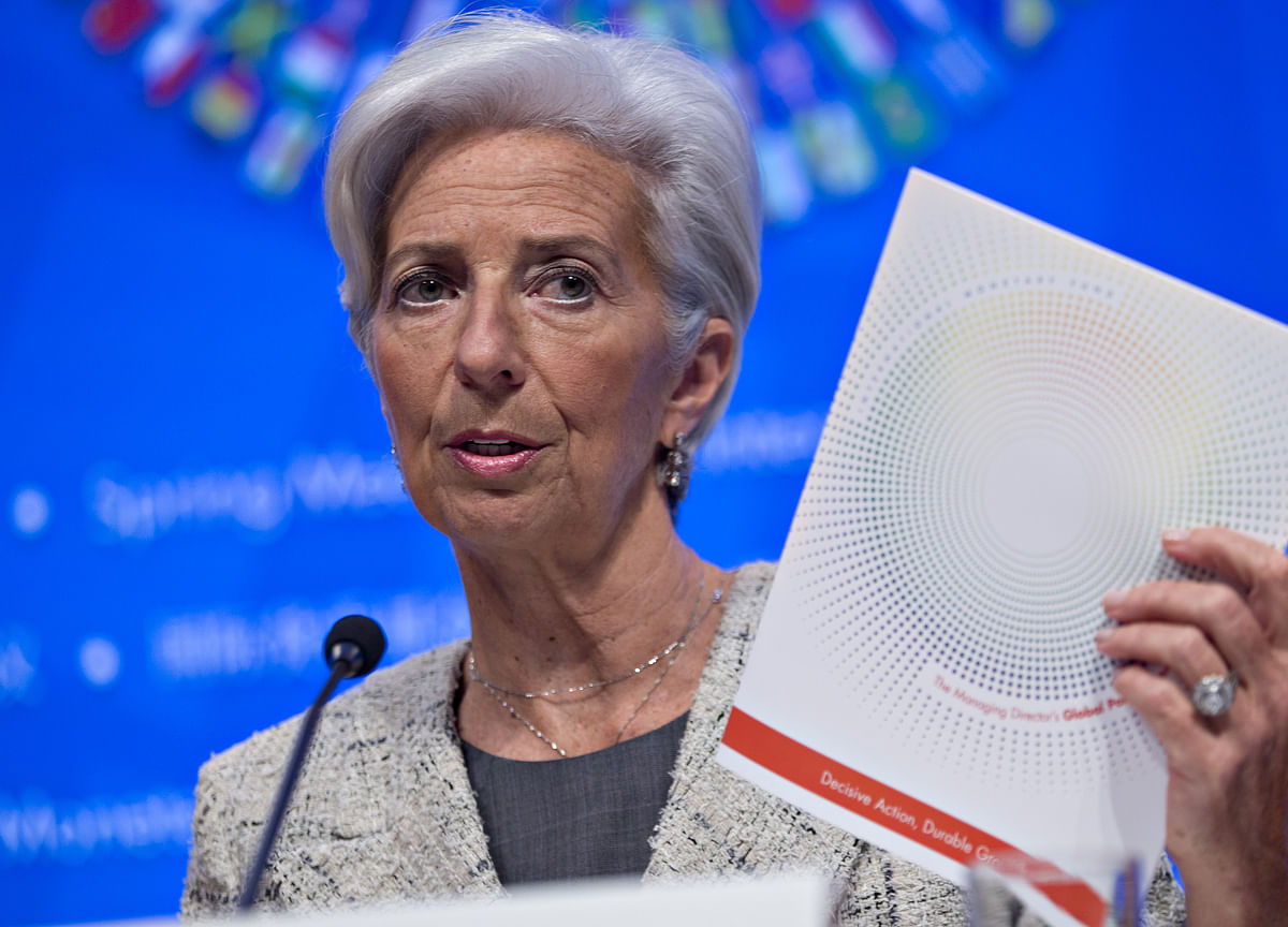 Lagarde Says World Finance Not Safe Enough 10 Years After Lehman