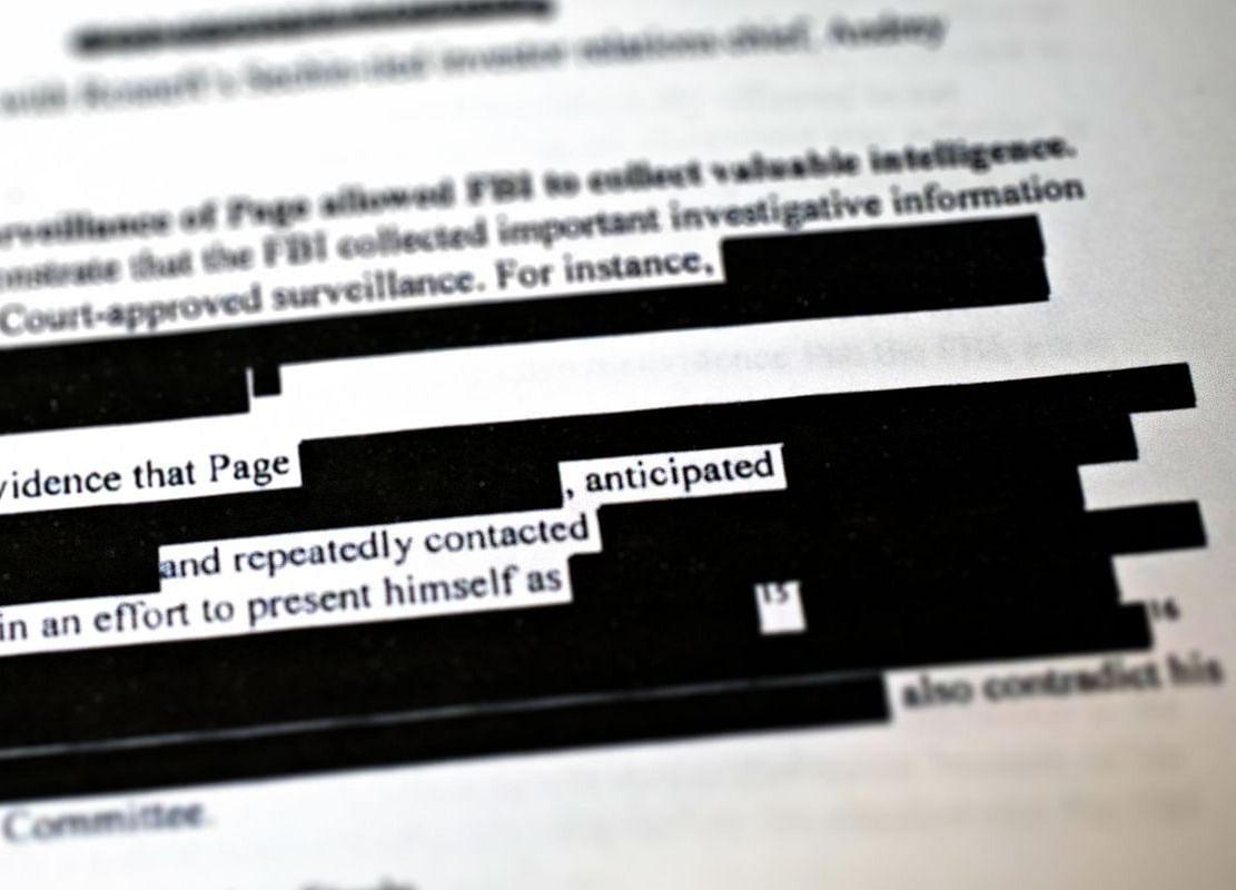 FBI, DOJ Plan Redactions Despite Trump's Document Order
