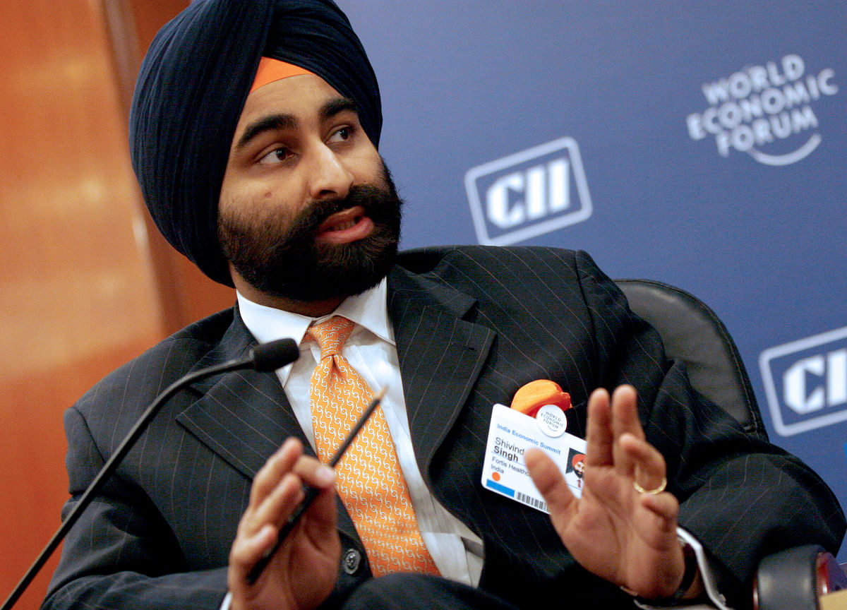Ex-Billionaire Shivinder Singh Sues Brother as Empire Collapses