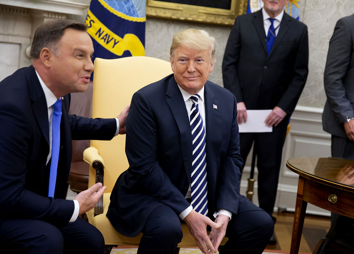 Poland Offers 'Fort Trump' as Name If U.S. Builds Military Base