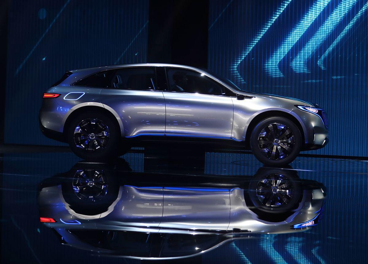 Mercedes Unveils First Tesla Rival in $12 Billion Attack