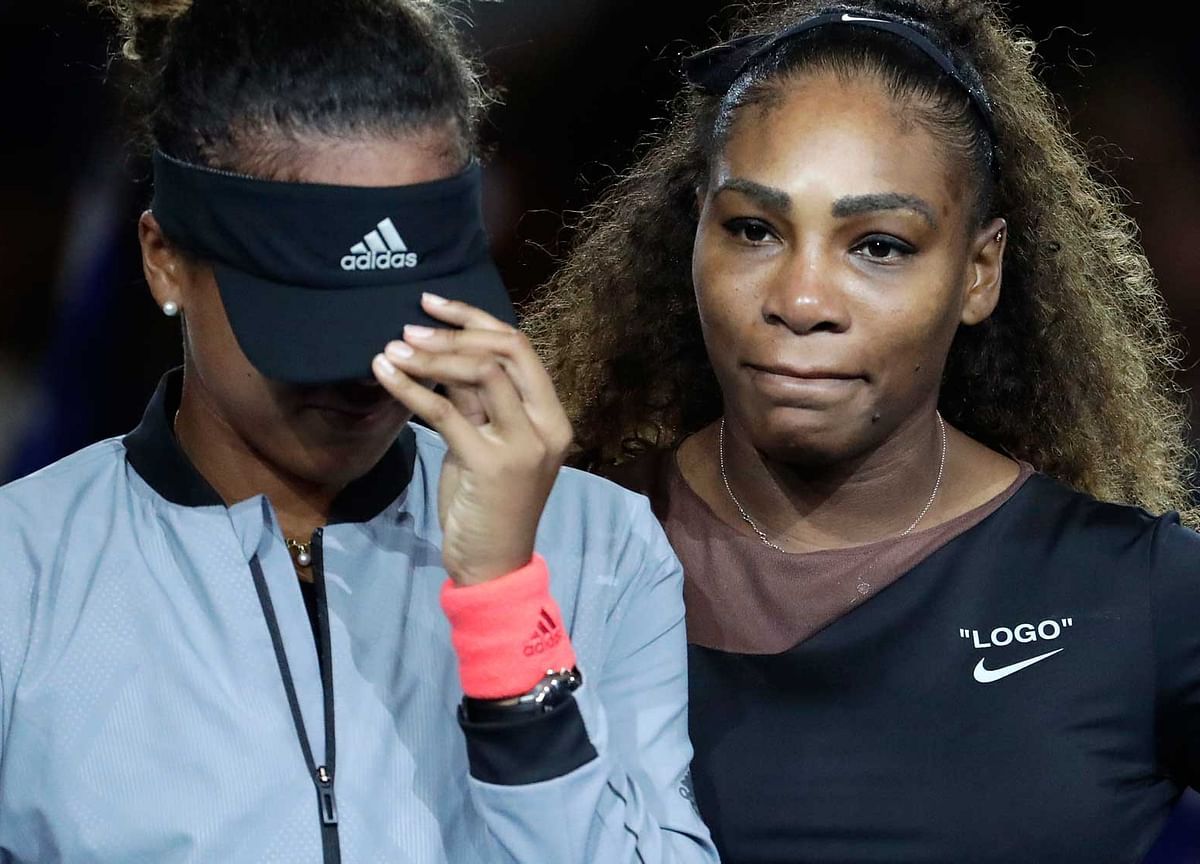 Watch 8 Important Moments from Serena's US Open Final Fightback