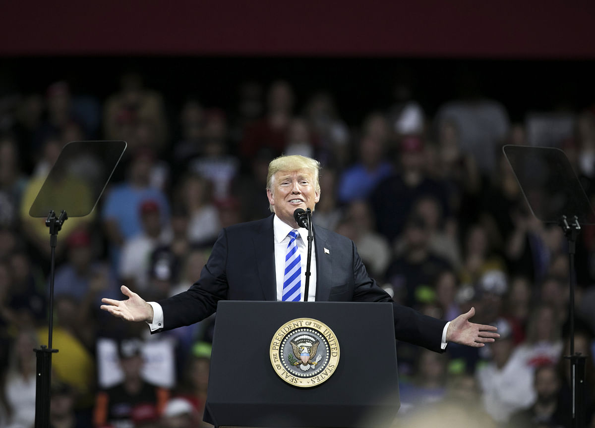 Trump Hits Campaign Trail as Prospect of Midterm Defeat Looms