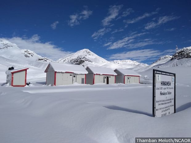 To monitor the changing climate closely, the Indian government has set up a high-altitude station named Himansh in Spiti at an altitude of 13,500 feet.