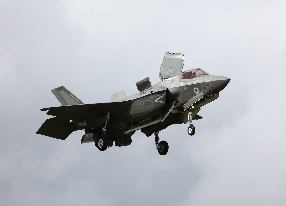 F-35's First Crash Was Caused by Manufacturing Defect