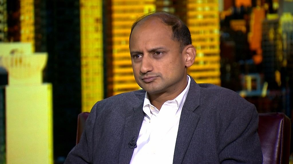 RBI Deputy Governor Viral Acharya during an interview in New York. (Photograph: BloombergQuint)