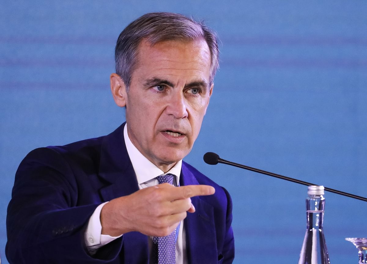 BOE's Carney Warns Against 'Weaponization'of Financial Assets