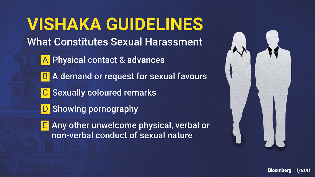#MeToo: Sexual Harassment Versus Social Misconduct – A Legal View