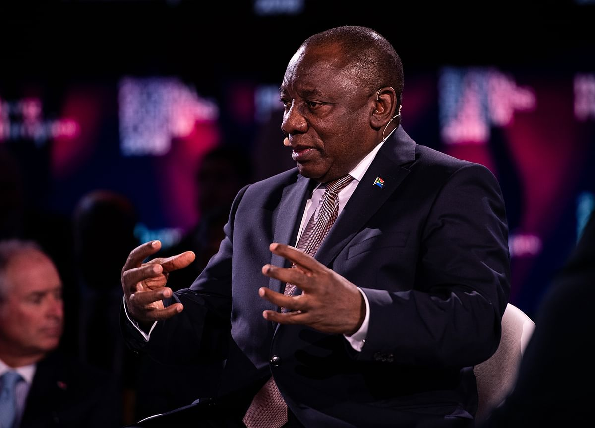 South Africa Opposition Links Ramaphosa Donation to Guptas