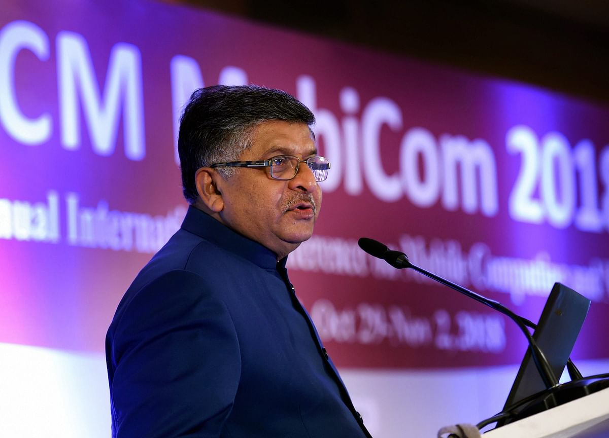 Ravi Shankar Prasad Hits Out At Vodafone For 'Dictating' Terms To India