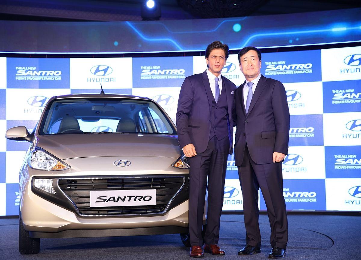 New Santro Lifts Growth For Hyundai This Festive Season